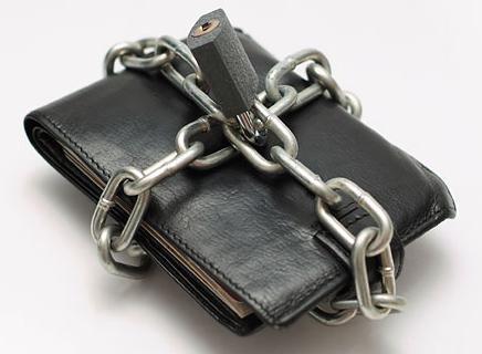 Заблокированный кошелек